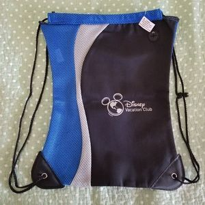 Disney Vacation Club Microfiber Mesh String Bag